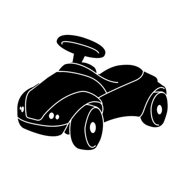 Kids Ride On Toy Car Silhouette Ride On Tapestry Teepublic