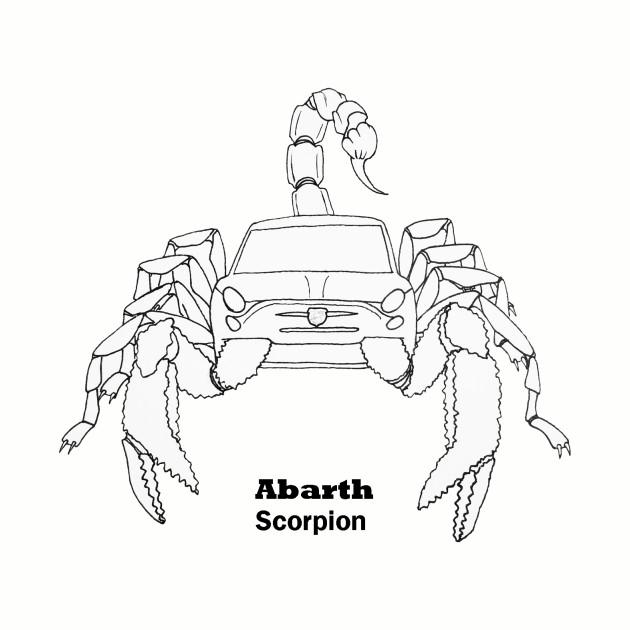 Abarth Racing Harness Pads