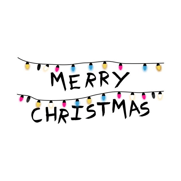 Merry Christmas - Stranger things
