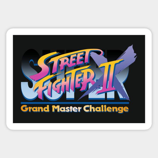 Super Street Fighter Ii X Grand Master Challenge Logo Street