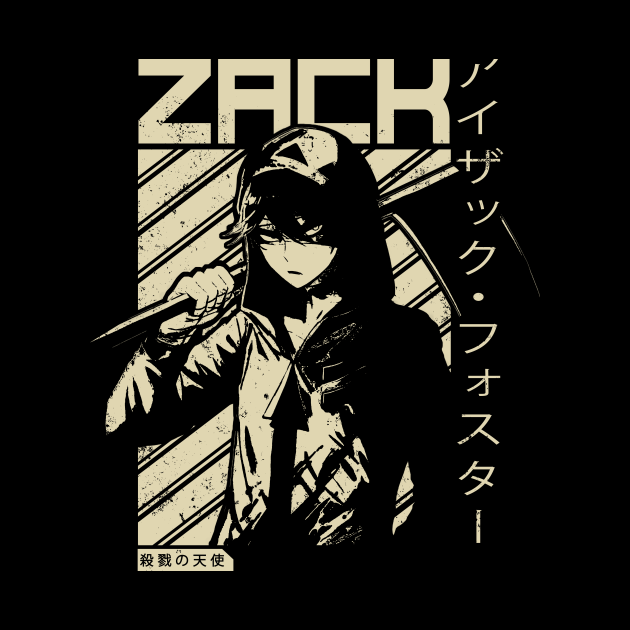 Isaac Zack Foster - Angels of Death | Anime Shirt