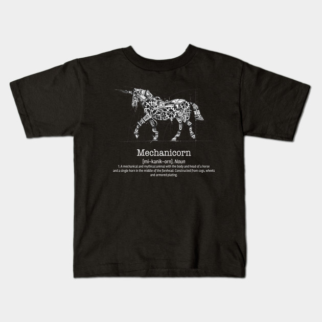 8789e117c Mechanicorn - The Original Steampunk Unicorn Shirt - Unicorn - Kids ...