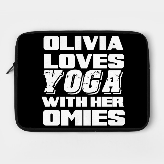 OLIVIA LOVES YOGA WITH HER OMIES