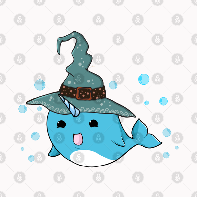 Halloween Narwhal Unicorn of the sea