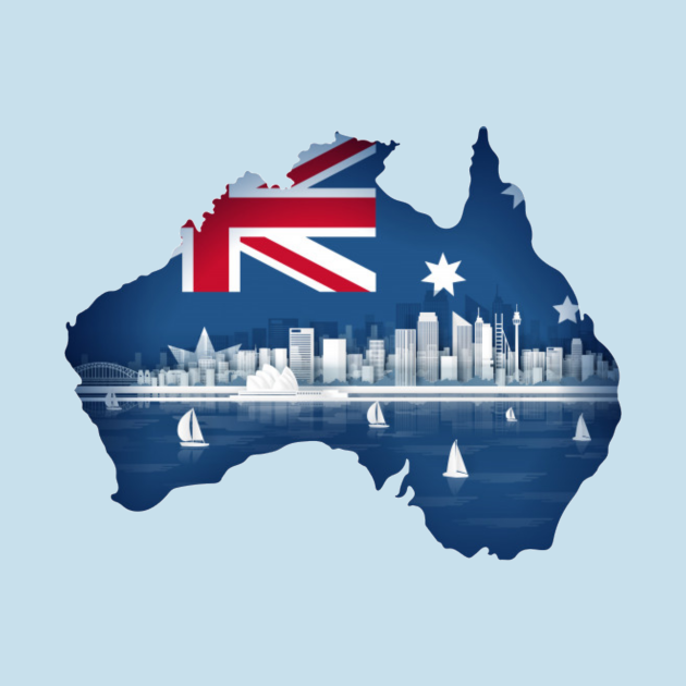 Australia Map Outline