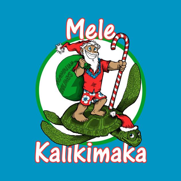 Winter-Hawaiian Santa