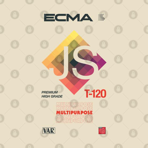Retro Blank VHS JavaScript (ECMAScript)