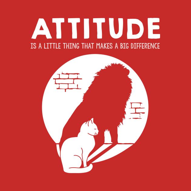Cat Lion Attitude