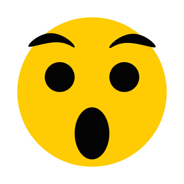Surprised Face Emoji Throw Pillow Teepublic