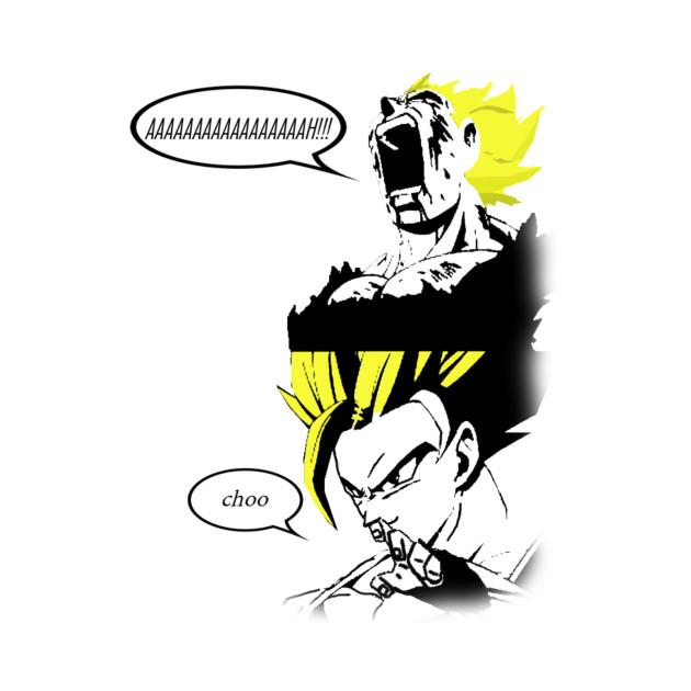 Goku needs to sneeze