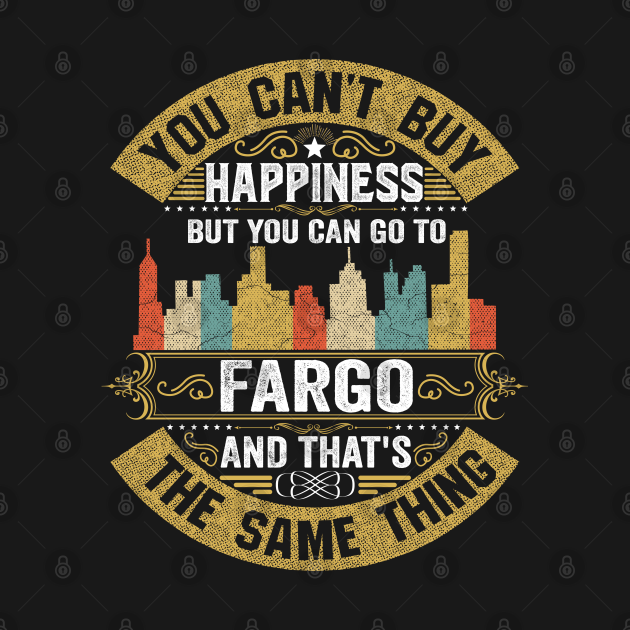 Fargo City North Dakota  State USA Flag Native American
