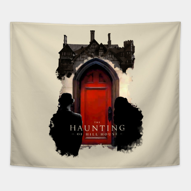The Haunting Of Hill House Red Door Netflix Original Tapestry Teepublic