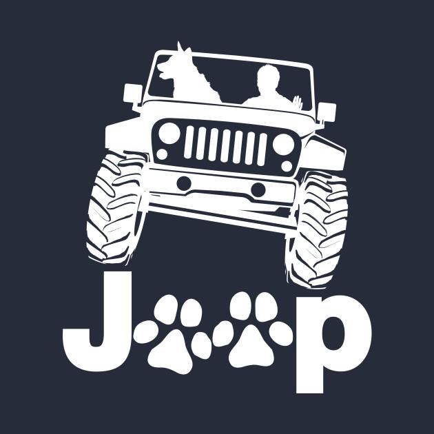 Jeep Dog Canine B K 9 REVERSED