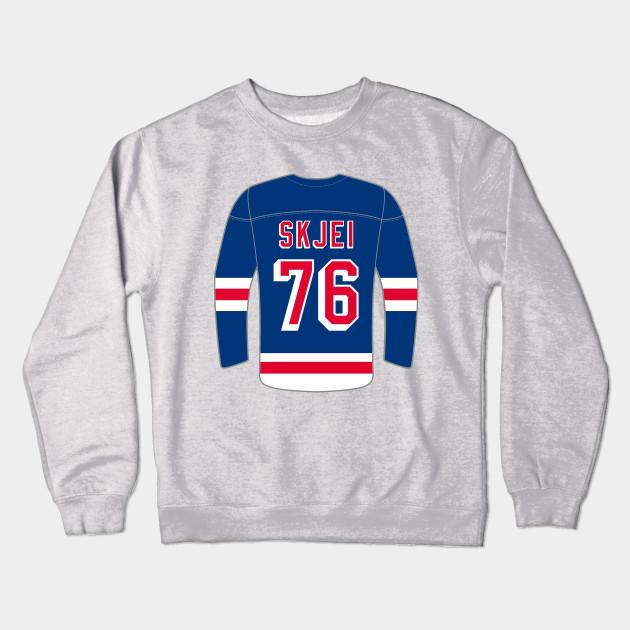 New York Rangers - Brady Skjei - New York Rangers - Crewneck ... 4ec8478f5