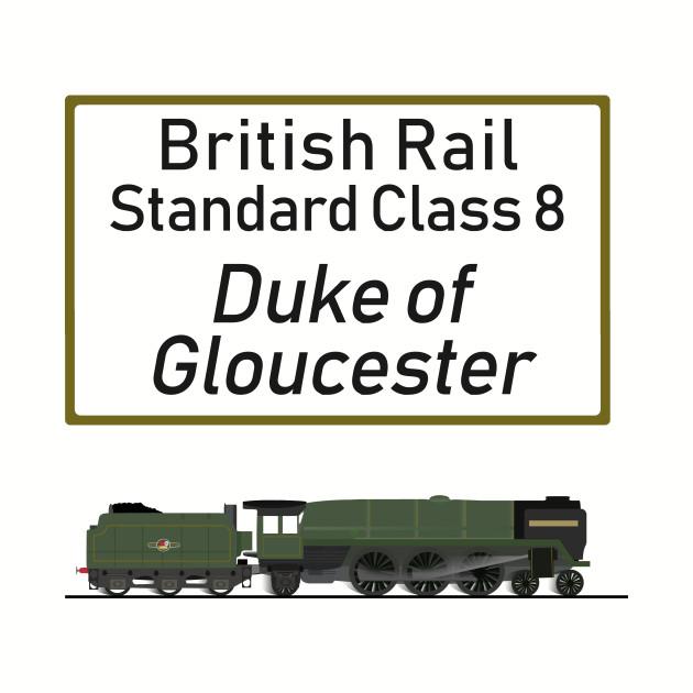British Rail Standard Class 8 Duke of Gloucester