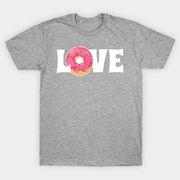 649f9649f Donut Love - Donuts - T-Shirt