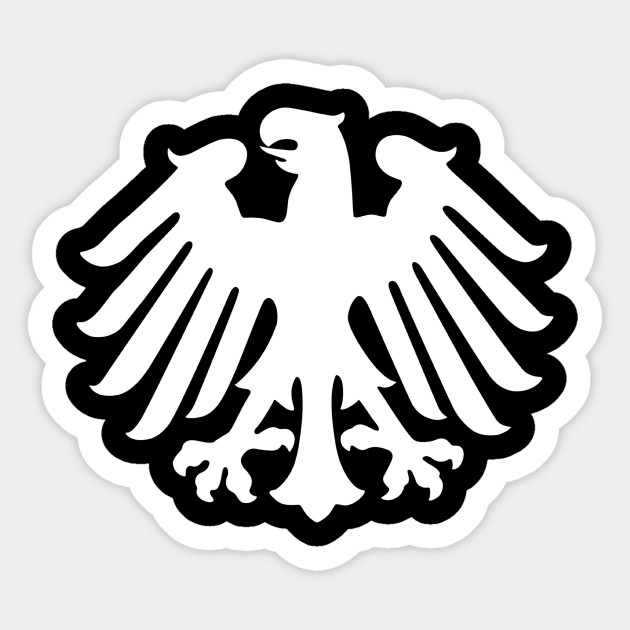 German Soccer Deutschland Germany Eagle Crest Design German