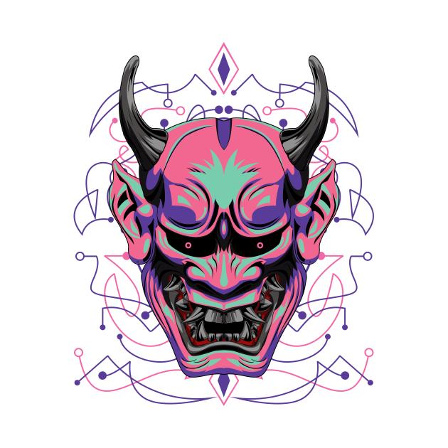 hanya mask shinigami