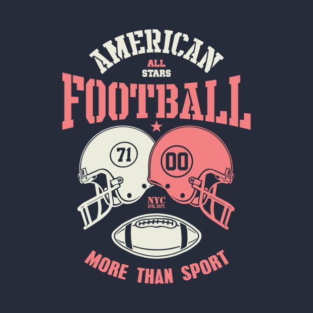football helmet illsutration