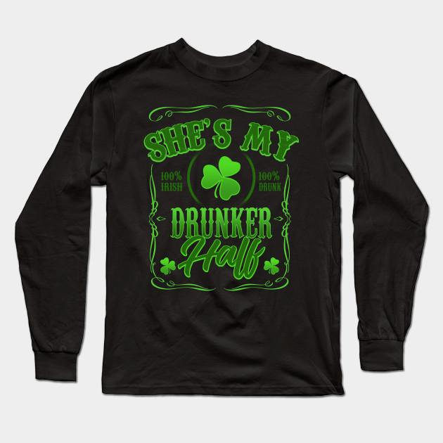 feff27b07 St Patricks Day Shirts Mens She's My Drunker Half - St Patricks Day ...