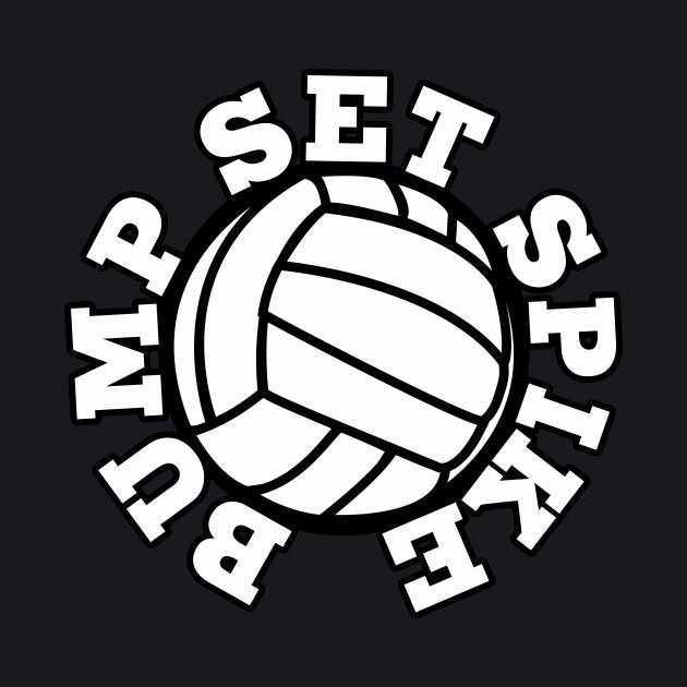 Bump Set Spike volleyball
