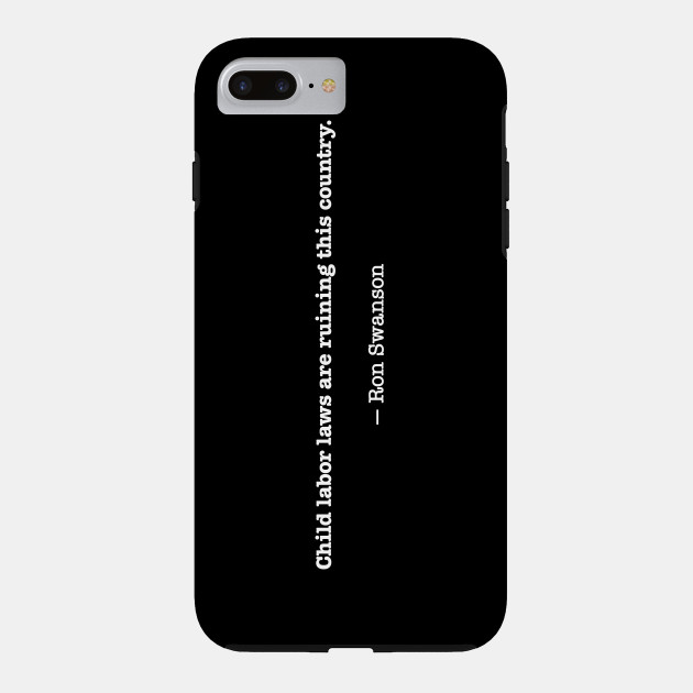 coque iphone 8 ron swanson