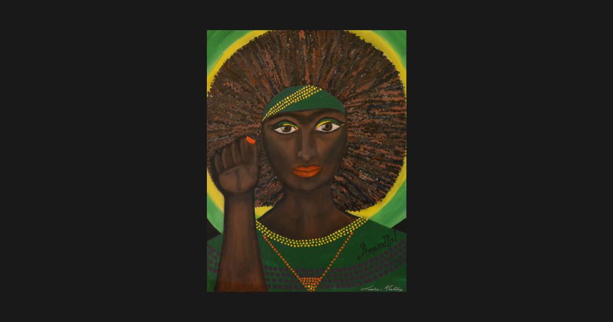 Frida Series: Dedication to Winnie Mandela by sandramartinezart