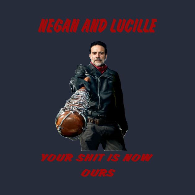 Negan and is lady
