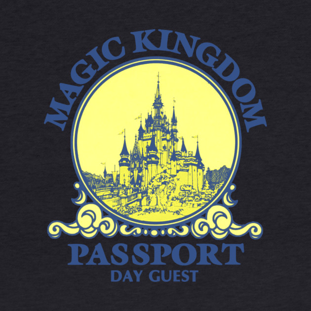 Retro Magic Kingdom Passport Logo