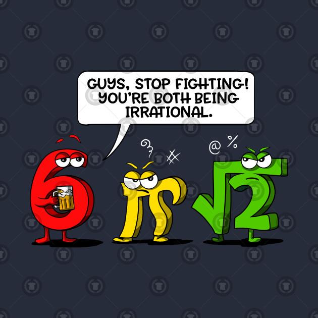 d5a0ffd4d ... Long Sleeve T-Shirt. New!Back Print. Funny Math Science Irrational Mathematics  Joke Pun Funny Math Science Irrational Mathematics Joke Pun