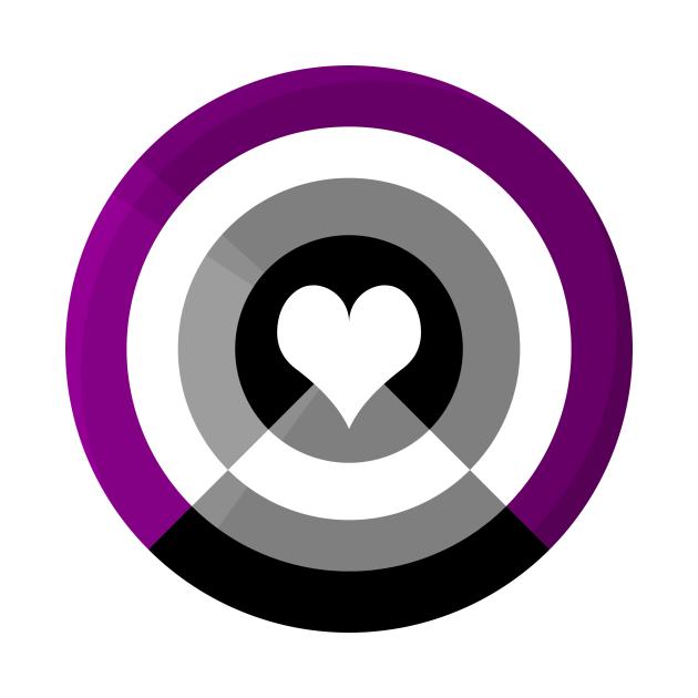 Pride Shield - Autochorissexual Flag