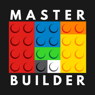 Master Builder t-shirts