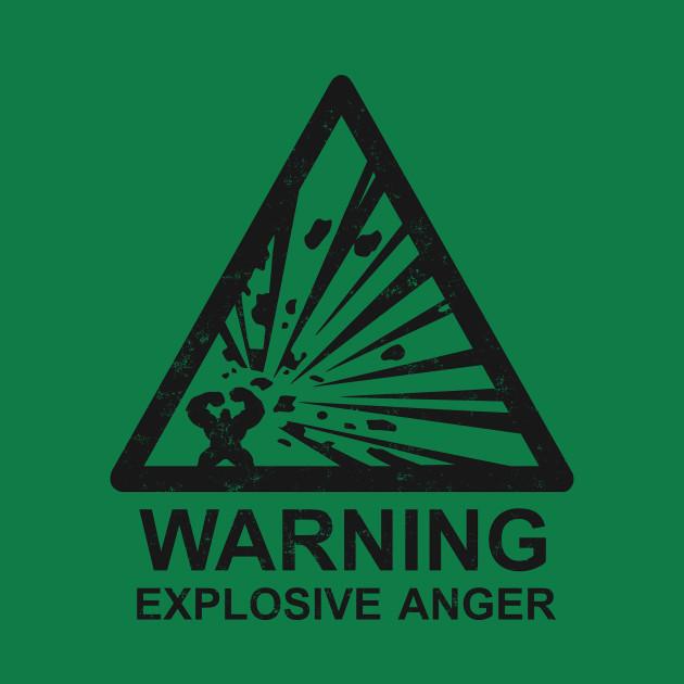 Warning: Explosive Anger