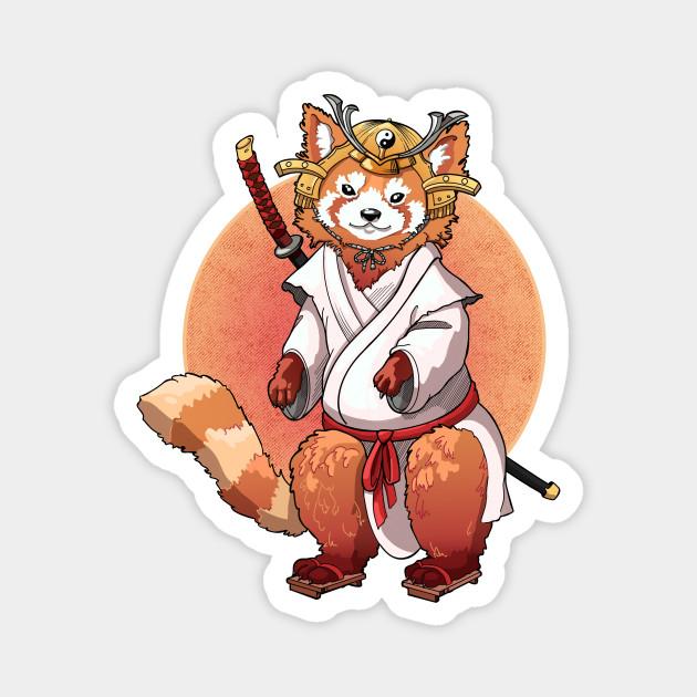 Red Panda Samurai