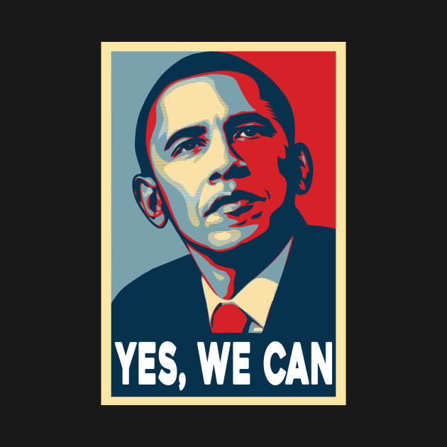 OBAMA YES WE CAN Obama Yes We Can T Shirt TeePublic