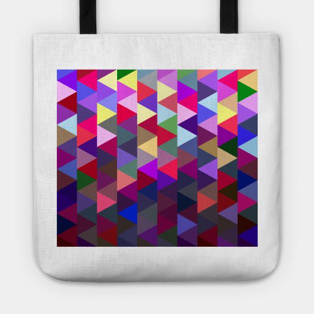 Triangular mesh mosaic
