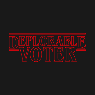 deplorable voter things t-shirts