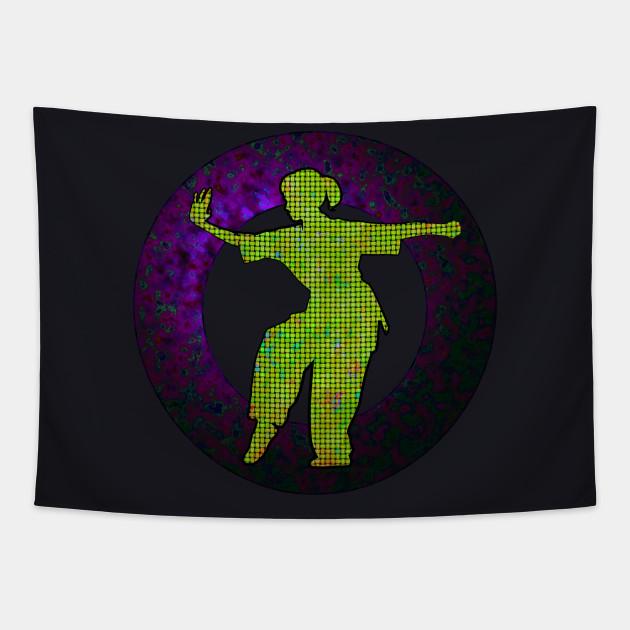 Tai Chi  Purple Emblem