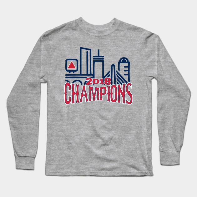 301ce59d Red Sox 2018 World Series Champions - Boston Red Sox - Long Sleeve T ...