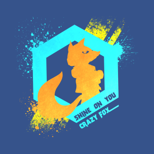 Shine On You Crazy Fox t-shirts