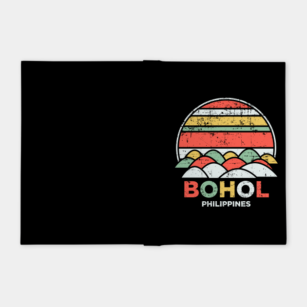 Vintage Bohol Chocolate Hills Philippines Pilipinas Gift