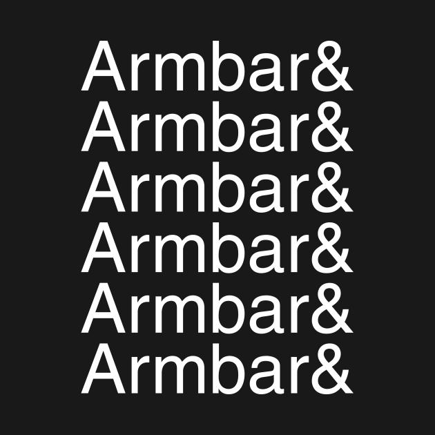 Armbar and armbar and armbar and armbar (white text)
