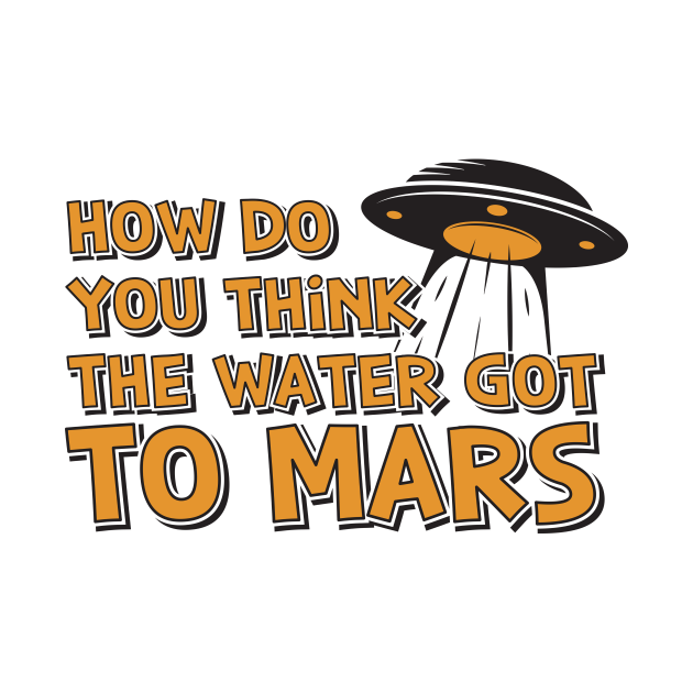 How Do You Think The Water Got To Mars UFO