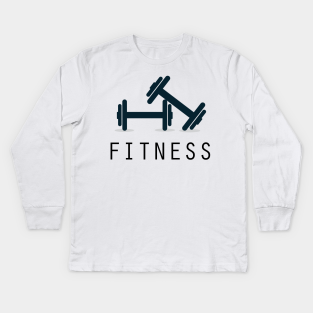 Fitness Quotes For Kids Long Sleeve T Shirts Teepublic