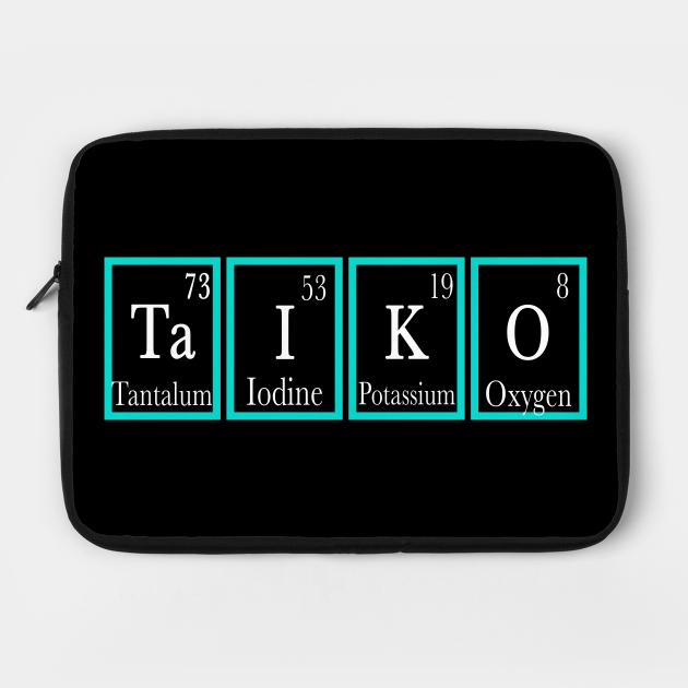 Funny Taiko Periodic Table Gift Design