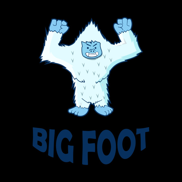 Funny Big Foot Christmas Gifts Xmas Family Holidays Gift Tee