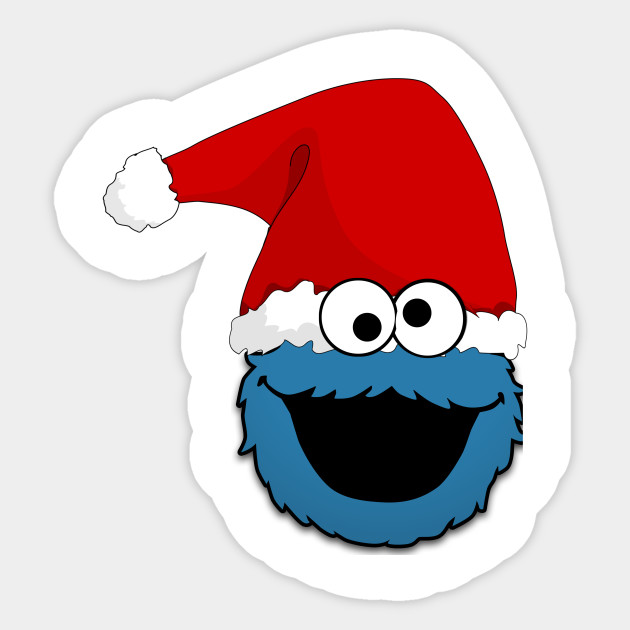 Cookie Monster Christmas
