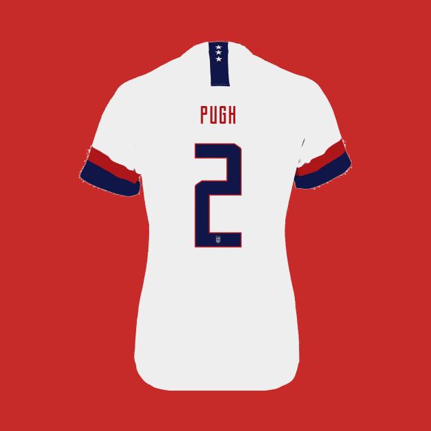 hot sale online 6484c 95361 Pugh - US Women's Soccer Jersey
