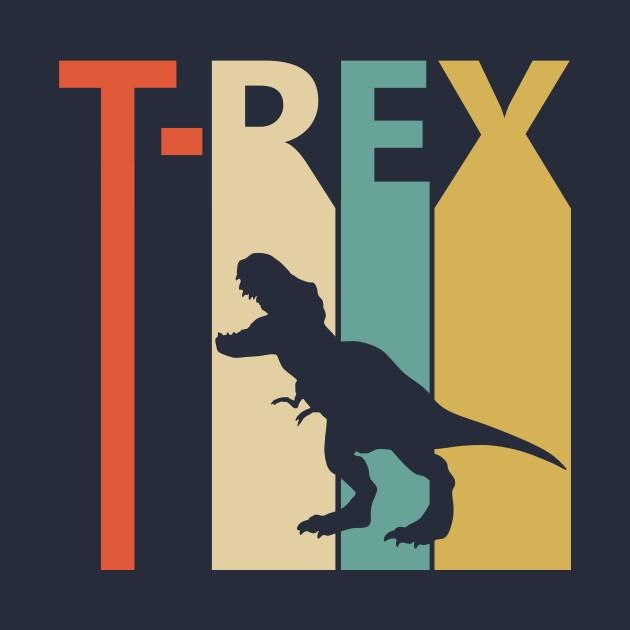 Vintage Retro Tyrannosaurus Rex T-rex