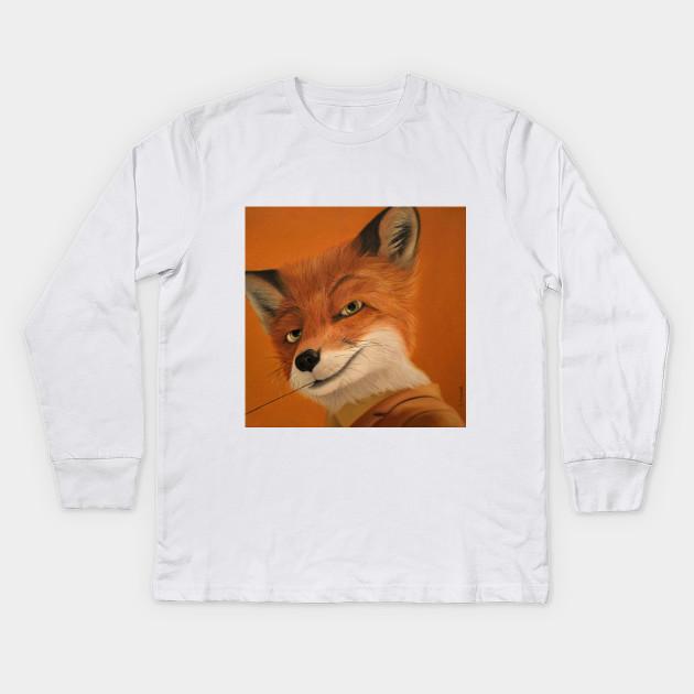 Fantastic Mr Fox Fantastic Mr Fox Kids Long Sleeve T Shirt Teepublic